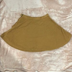 Brown skirt so cute